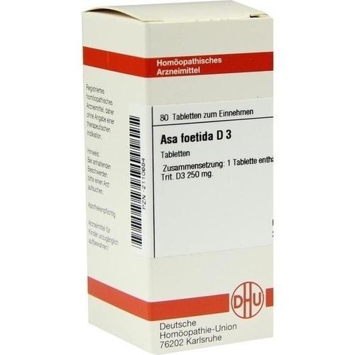 ASA FOETIDA D 3, 80 ST, Dhu-Arzneimittel GmbH & Co. KG