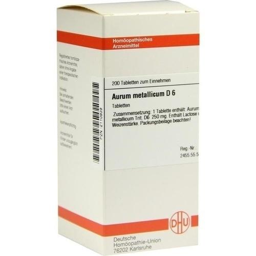 AURUM MET D 6, 200 ST, Dhu-Arzneimittel GmbH & Co. KG