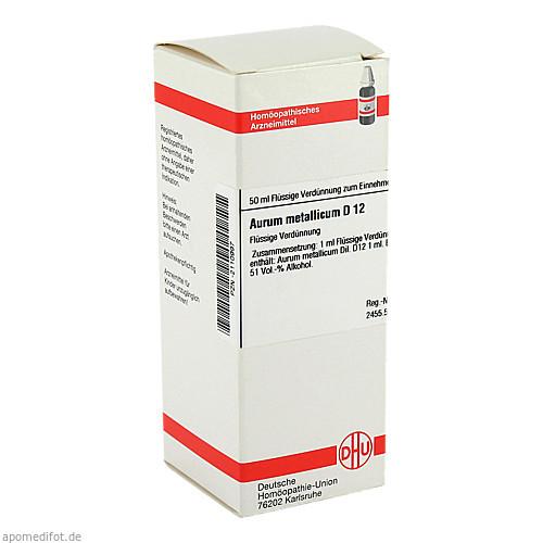 AURUM MET D12, 50 ML, Dhu-Arzneimittel GmbH & Co. KG