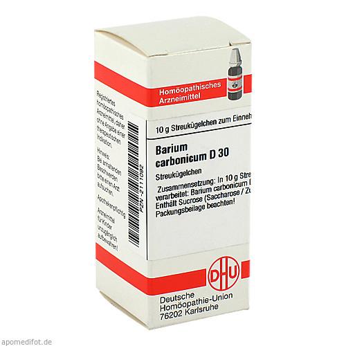 BARIUM CARBONICUM D 30 Globuli, 10 G, DHU-Arzneimittel GmbH & Co. KG