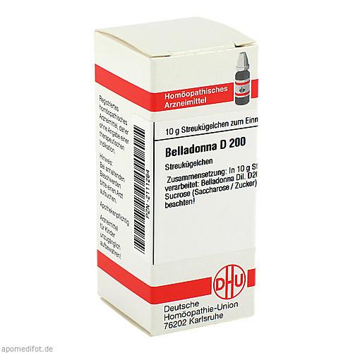 BELLADONNA D200, 10 G, Dhu-Arzneimittel GmbH & Co. KG