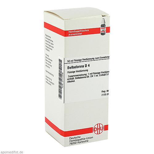 BELLADONNA D 4, 50 ML, Dhu-Arzneimittel GmbH & Co. KG