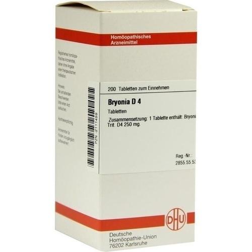 BRYONIA D 4, 200 ST, Dhu-Arzneimittel GmbH & Co. KG