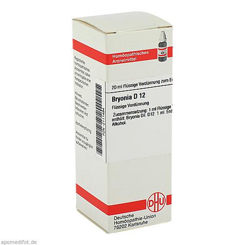 BRYONIA D12, 20 ML, Dhu-Arzneimittel GmbH & Co. KG