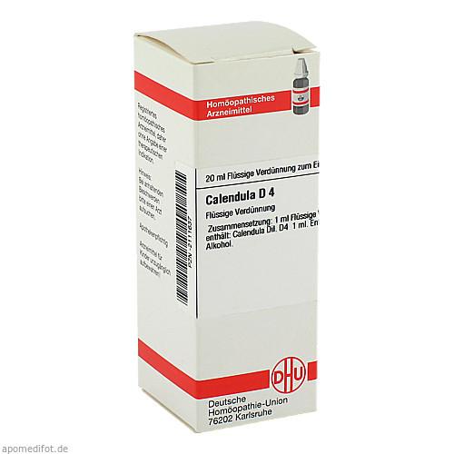 CALENDULA D 4, 20 ML, Dhu-Arzneimittel GmbH & Co. KG