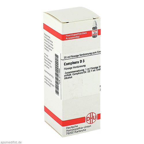 CAMPHORA D 3, 20 ML, Dhu-Arzneimittel GmbH & Co. KG
