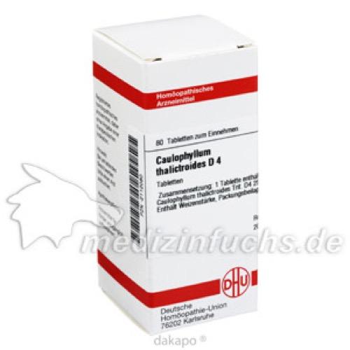 CAULOPHYLLUM THA D 4, 80 ST, Dhu-Arzneimittel GmbH & Co. KG