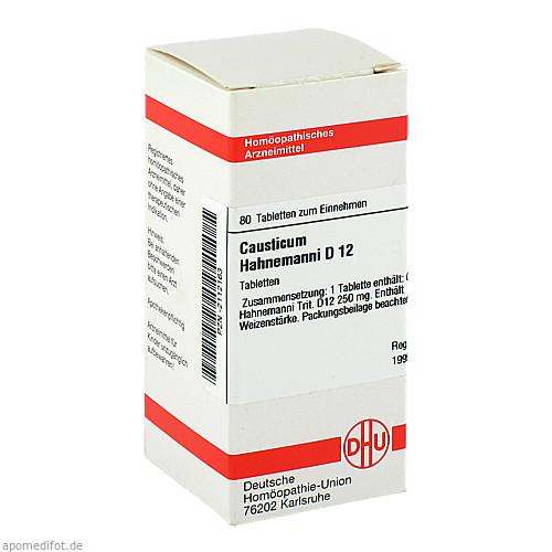 CAUSTICUM HAHNEM D12, 80 ST, Dhu-Arzneimittel GmbH & Co. KG