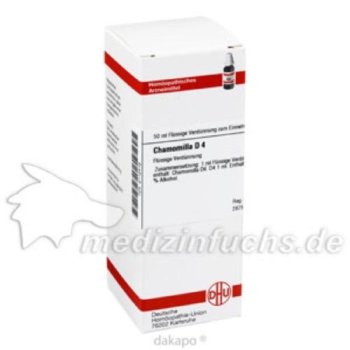 CHAMOMILLA D 4, 50 ML, Dhu-Arzneimittel GmbH & Co. KG