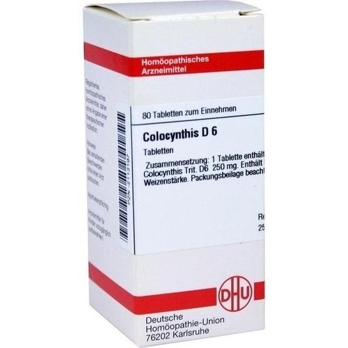 COLOCYNTHIS D 6, 80 ST, Dhu-Arzneimittel GmbH & Co. KG