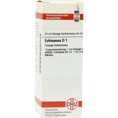 Echinacea (HAB) D 1, 20 ML, Dhu-Arzneimittel GmbH & Co. KG