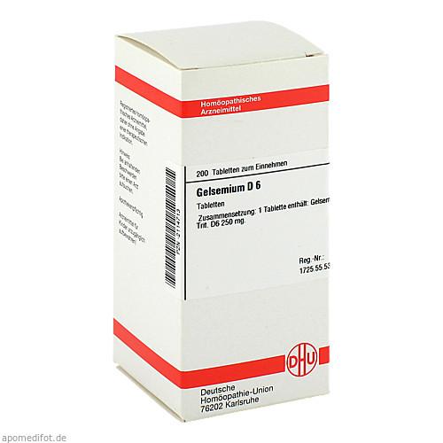 GELSEMIUM D 6, 200 ST, Dhu-Arzneimittel GmbH & Co. KG
