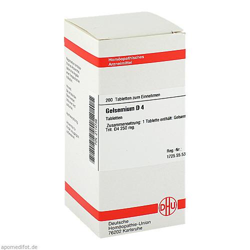 GELSEMIUM D 4, 200 ST, Dhu-Arzneimittel GmbH & Co. KG