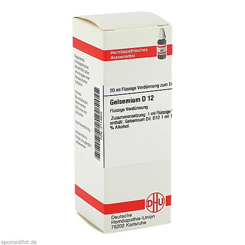 GELSEMIUM D12, 20 ML, Dhu-Arzneimittel GmbH & Co. KG