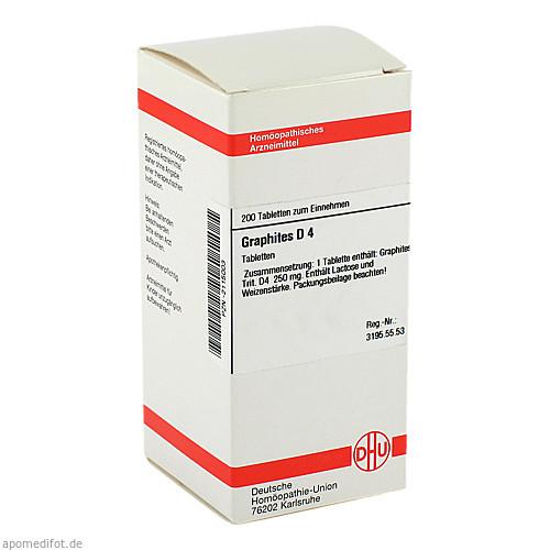 GRAPHITES D 4, 200 ST, Dhu-Arzneimittel GmbH & Co. KG