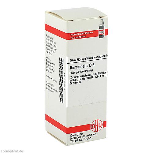 HAMAMELIS D 6, 20 ML, Dhu-Arzneimittel GmbH & Co. KG