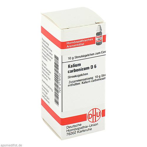 KALIUM CARB D 6, 10 G, Dhu-Arzneimittel GmbH & Co. KG