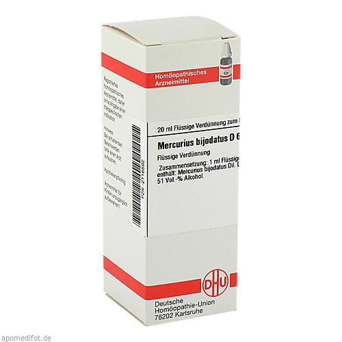 MERCURIUS BIJODAT D 6, 20 ML, Dhu-Arzneimittel GmbH & Co. KG