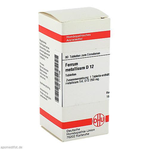 FERRUM MET D12, 80 ST, Dhu-Arzneimittel GmbH & Co. KG