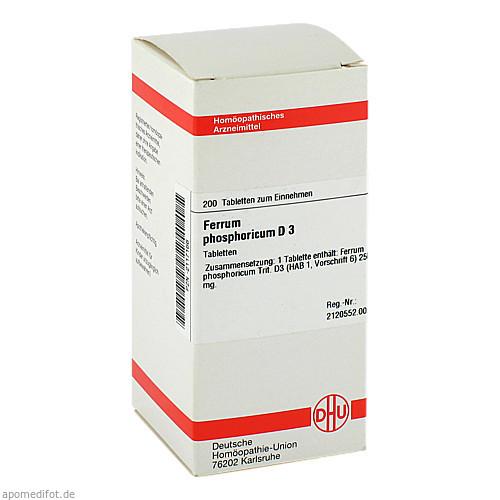 FERRUM PHOS D 3, 200 ST, Dhu-Arzneimittel GmbH & Co. KG
