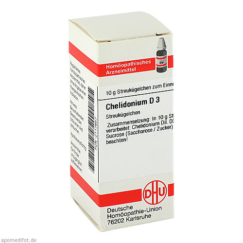 CHELIDONIUM D 3, 10 G, Dhu-Arzneimittel GmbH & Co. KG