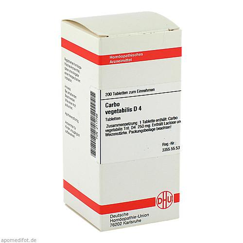 CARBO VEG D 4, 200 ST, Dhu-Arzneimittel GmbH & Co. KG