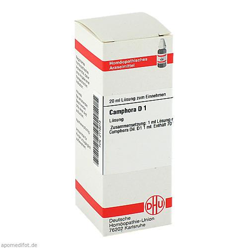 CAMPHORA URT D 1, 20 ML, Dhu-Arzneimittel GmbH & Co. KG