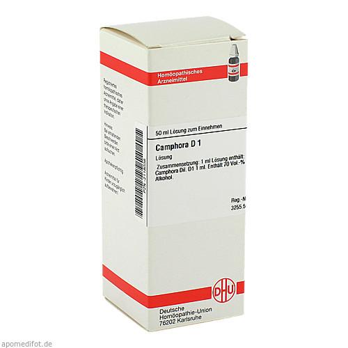 CAMPHORA URT D 1, 50 ML, Dhu-Arzneimittel GmbH & Co. KG