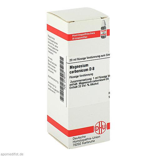 MAGNESIUM CARBONICUM D 8 Dilution, 20 ML, DHU-Arzneimittel GmbH & Co. KG
