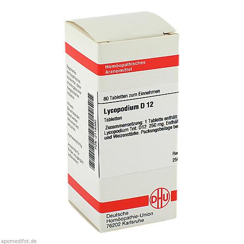 LYCOPODIUM D12, 80 ST, Dhu-Arzneimittel GmbH & Co. KG