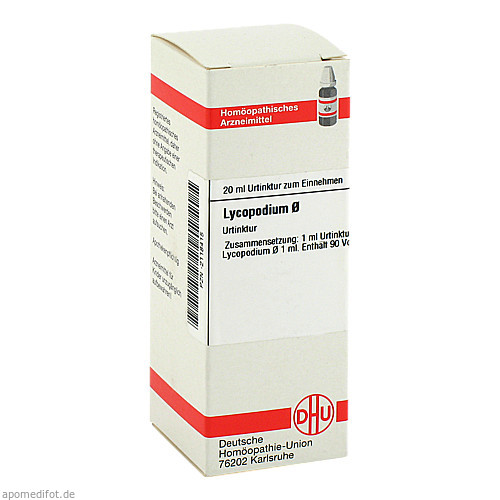 LYCOPODIUM D 1 URT, 20 ML, Dhu-Arzneimittel GmbH & Co. KG