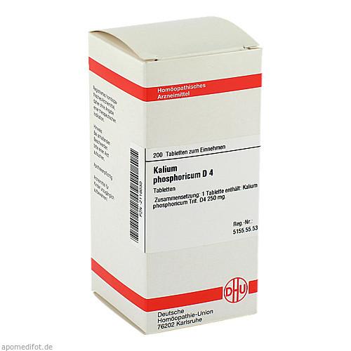 KALIUM PHOS D 4, 200 ST, Dhu-Arzneimittel GmbH & Co. KG