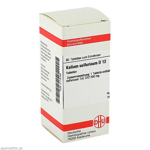 KALIUM SULFURICUM D12, 80 ST, Dhu-Arzneimittel GmbH & Co. KG