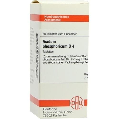 ACIDUM PHOS D 4, 80 ST, Dhu-Arzneimittel GmbH & Co. KG