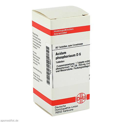 ACIDUM PHOS D 6, 80 ST, Dhu-Arzneimittel GmbH & Co. KG