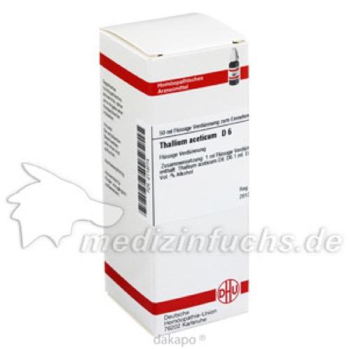 THALLIUM ACETICUM D 6 Dilution, 50 ML, DHU-Arzneimittel GmbH & Co. KG