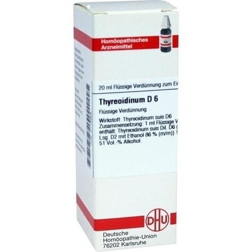 THYREOIDINUM D 6, 20 ML, Dhu-Arzneimittel GmbH & Co. KG