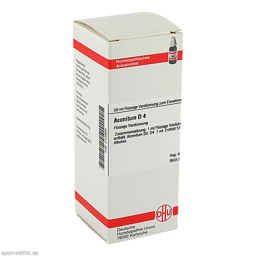 ACONITUM D 4, 50 ML, Dhu-Arzneimittel GmbH & Co. KG
