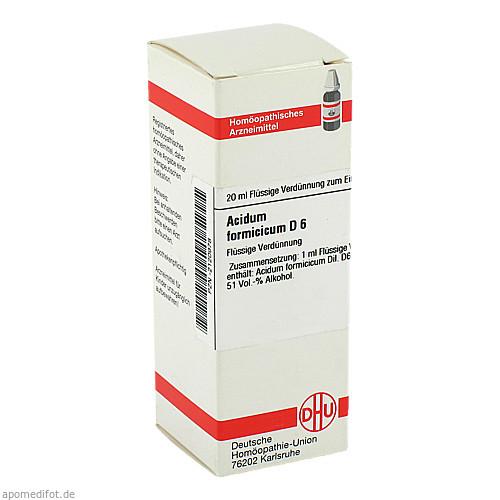ACIDUM FORMIC D 6, 20 ML, Dhu-Arzneimittel GmbH & Co. KG