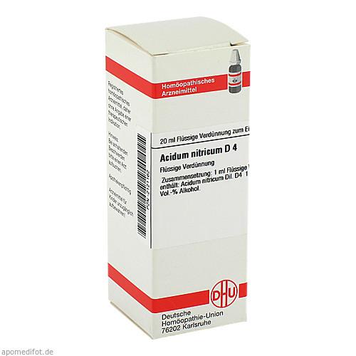 ACIDUM NITR D 4, 20 ML, Dhu-Arzneimittel GmbH & Co. KG