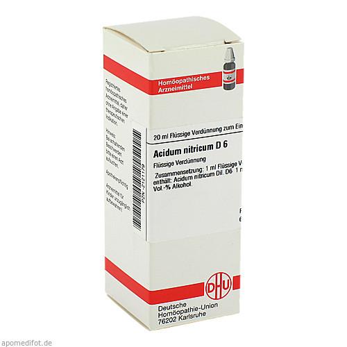 ACIDUM NITR D 6, 20 ML, Dhu-Arzneimittel GmbH & Co. KG