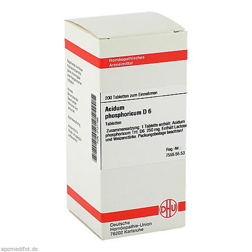 ACIDUM PHOS D 6, 200 ST, Dhu-Arzneimittel GmbH & Co. KG