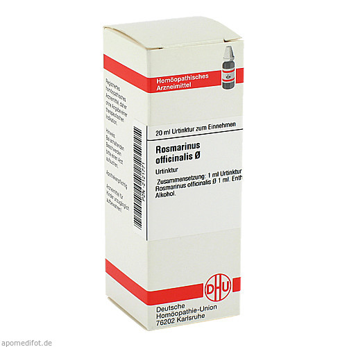 ROSMARINUS OFF URT D 1, 20 ML, Dhu-Arzneimittel GmbH & Co. KG