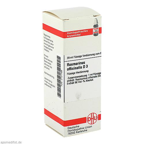 ROSMARINUS OFF D 3, 20 ML, Dhu-Arzneimittel GmbH & Co. KG