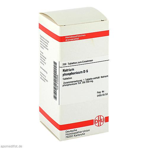 NATRIUM PHOS D 6, 200 ST, Dhu-Arzneimittel GmbH & Co. KG