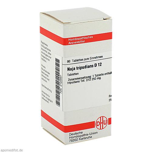 NAJA TRIPUD D12, 80 ST, Dhu-Arzneimittel GmbH & Co. KG