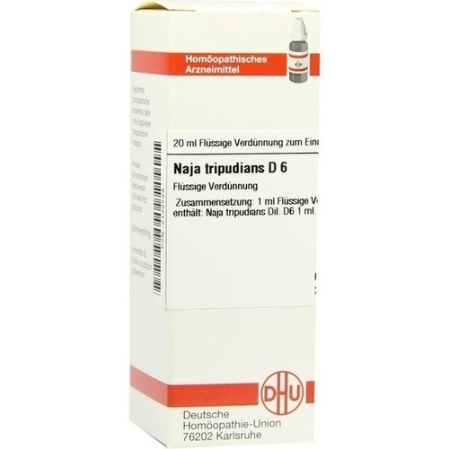 NAJA TRIPUD D 6, 20 ML, Dhu-Arzneimittel GmbH & Co. KG