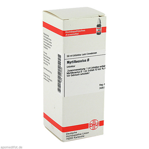 MYRTILLOCACTUS URT, 50 ML, Dhu-Arzneimittel GmbH & Co. KG