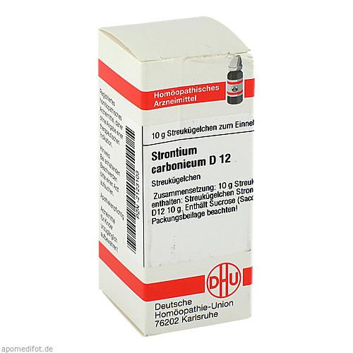 STRONTIUM CARBONICUM D12, 10 G, Dhu-Arzneimittel GmbH & Co. KG