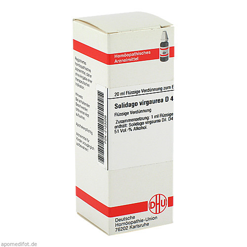 SOLIDAGO VIRGA D 4, 20 ML, Dhu-Arzneimittel GmbH & Co. KG